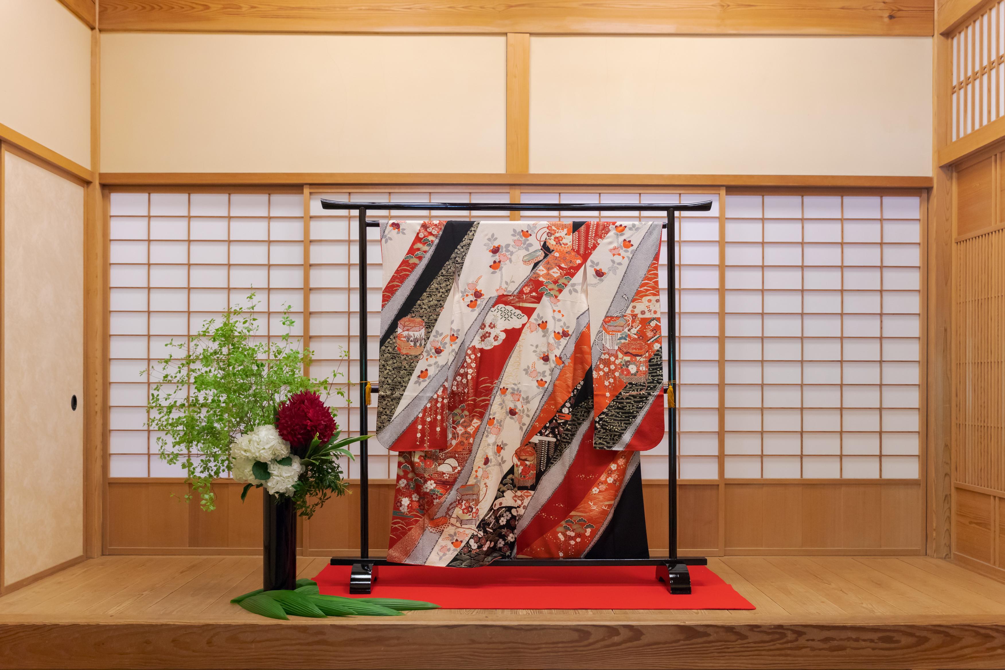 和装の結婚式でお手本にしたい装飾アイディア