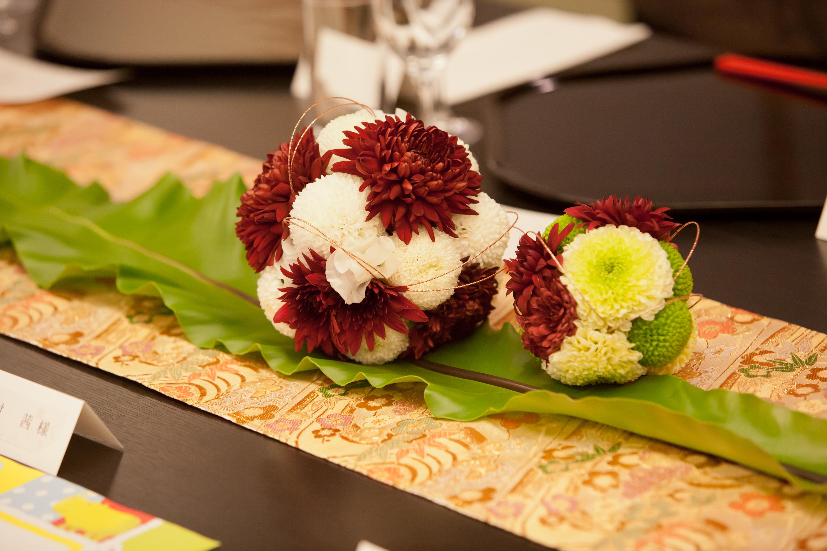和風の結婚式に合う装花コーディネート特集